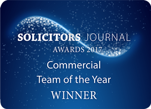 Solicitors Journal Awards 2017