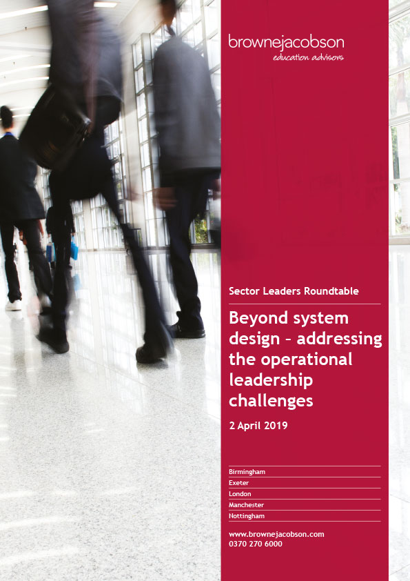 Thought leadership report cover