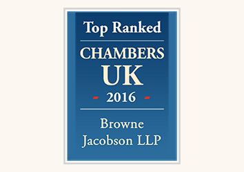 Chumbers UK 2016 Browne Jacobson
