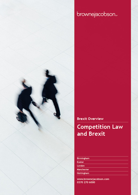 Competition law and Brexit