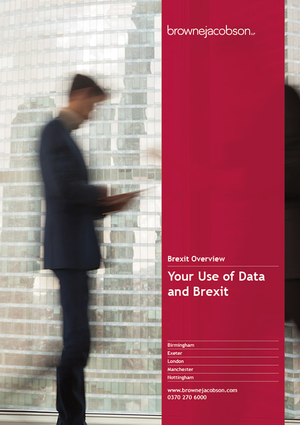 Your use of data and Brexit