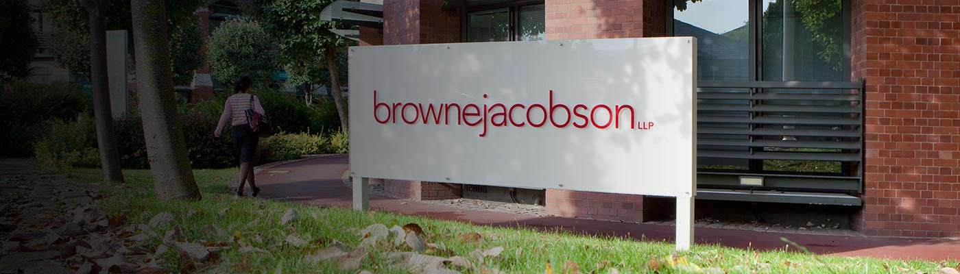 Nottingham office sign