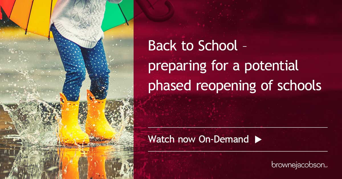 on demand education webinar