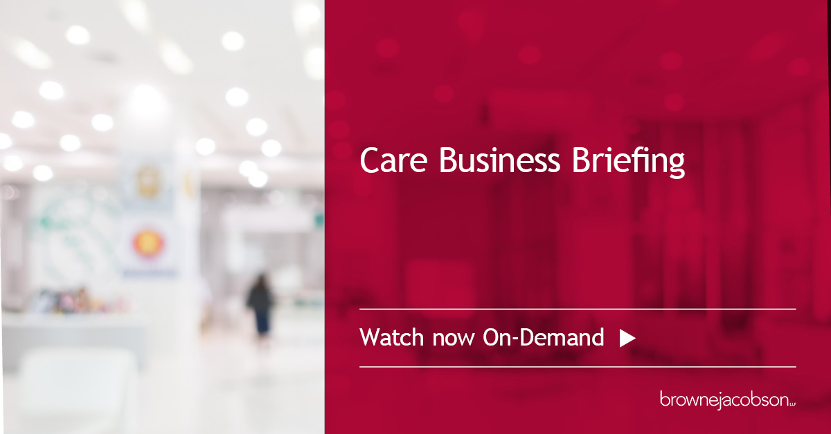 Care business briefing