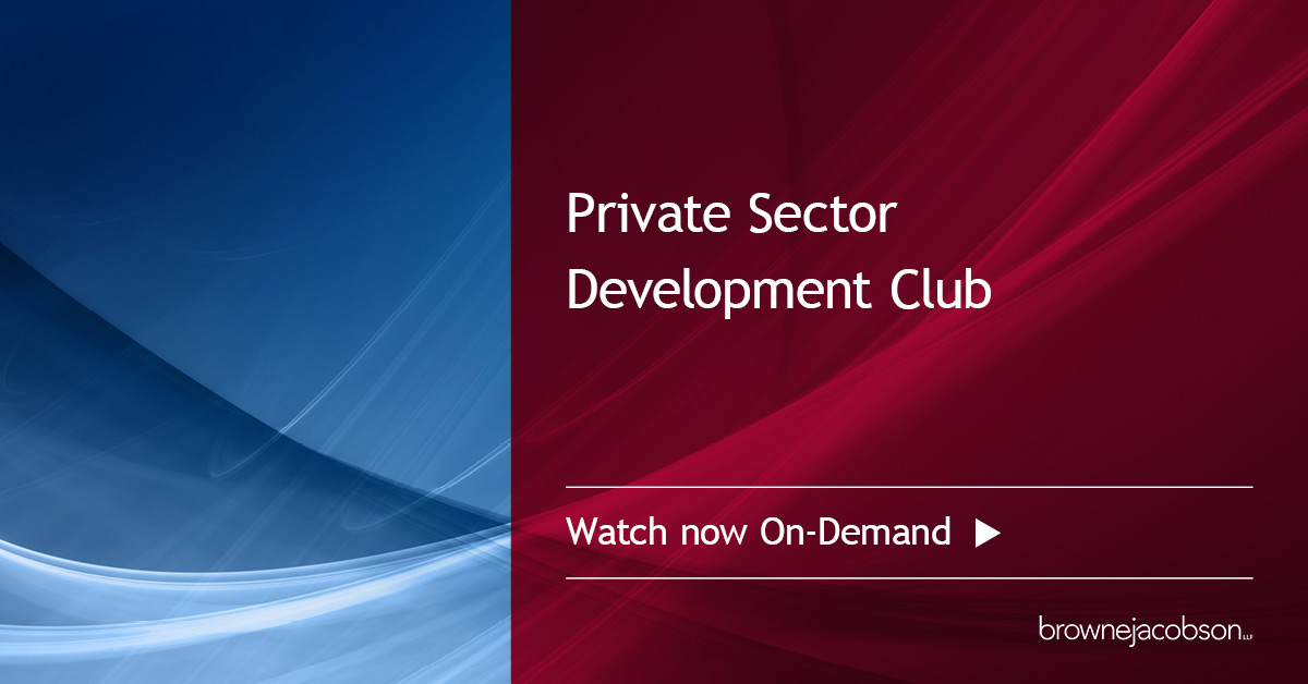 private sector development club