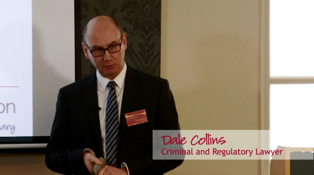 Hear from criminal and regulatory lawyer Dale Collins