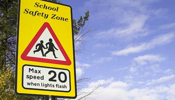 education-school-safety-zone-sign
