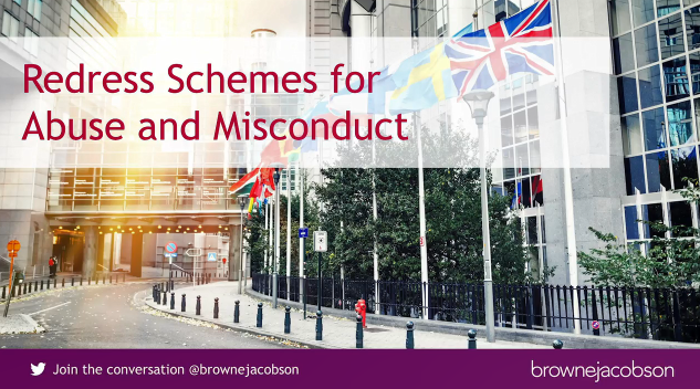 Redress Schemes for Abuse and Misconduct
