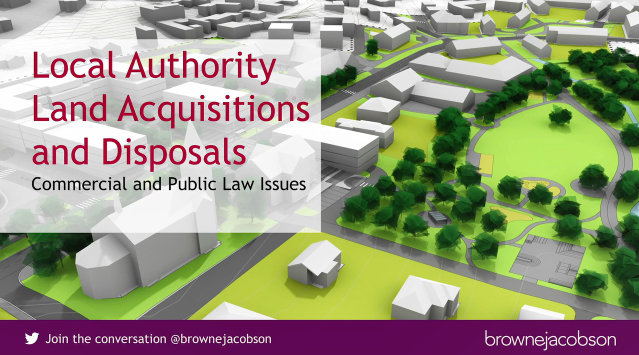 Local authority acquisition and disposal of land webinar